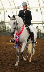 Inez and Cheyenne 2015 Champion